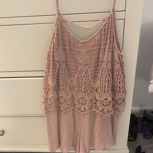 American Eagle Outfitters Other - American Eagle Blush Pink Romper